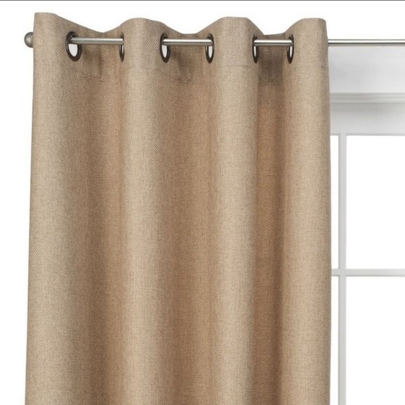 Threshold Other - Basketweave Curtain Panel Set